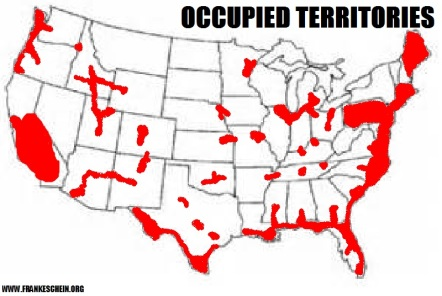 Franle Schein - Occupied Territories Map